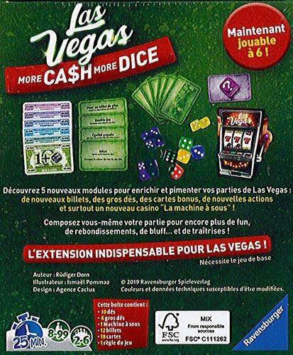More Cash More Dice - Extension Las Vegas