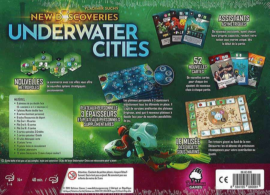 New Discoveries (Ext. Underwater Cities)