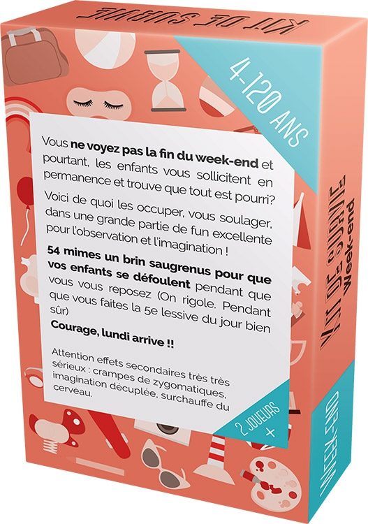 Parent Épuisé : Kit de Survie Week-End sans Fin