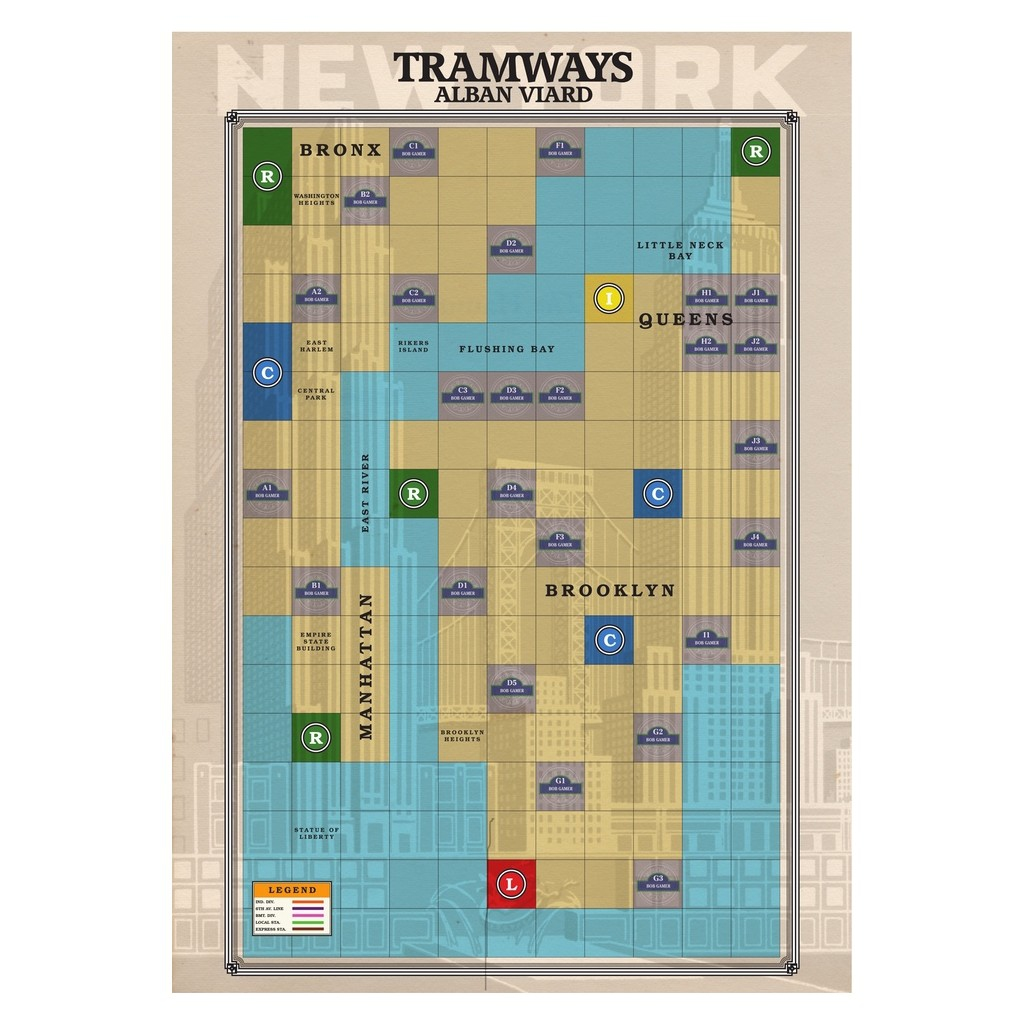 Paris / New York Extension Tramways