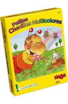 Petites Chenilles Multicolores