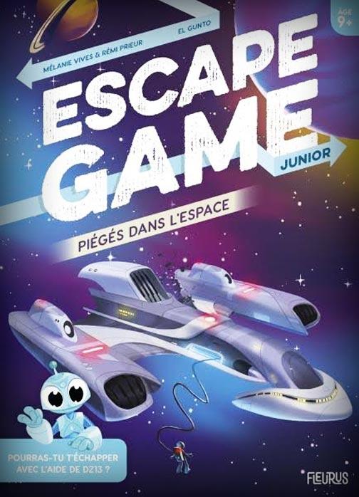 Piégés dans l\'Espace - Escape Game Junior