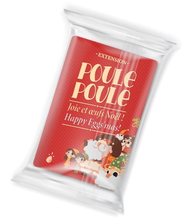 Poule Poule -Ext.Joie et Oeufs de Noel