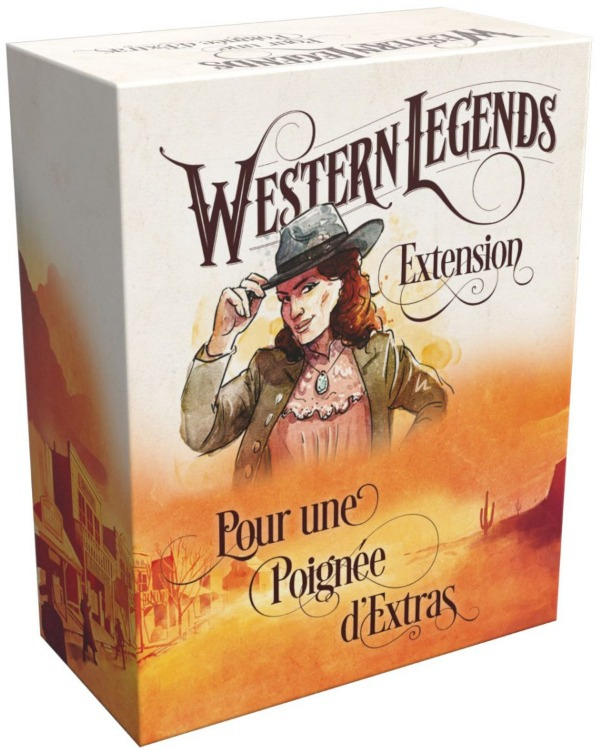Boite de Pour une Poignée d'Extras - Western Legends (Extension)