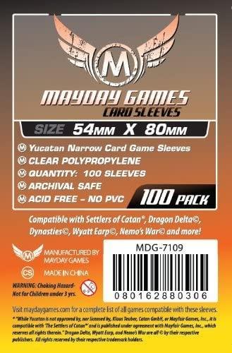 Protège-Cartes Mayday 54x80mm (x100)