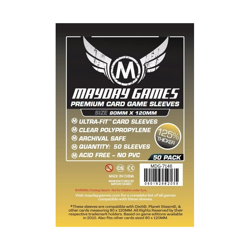 Protège-Cartes Mayday Magnum 80 x 120 Premium