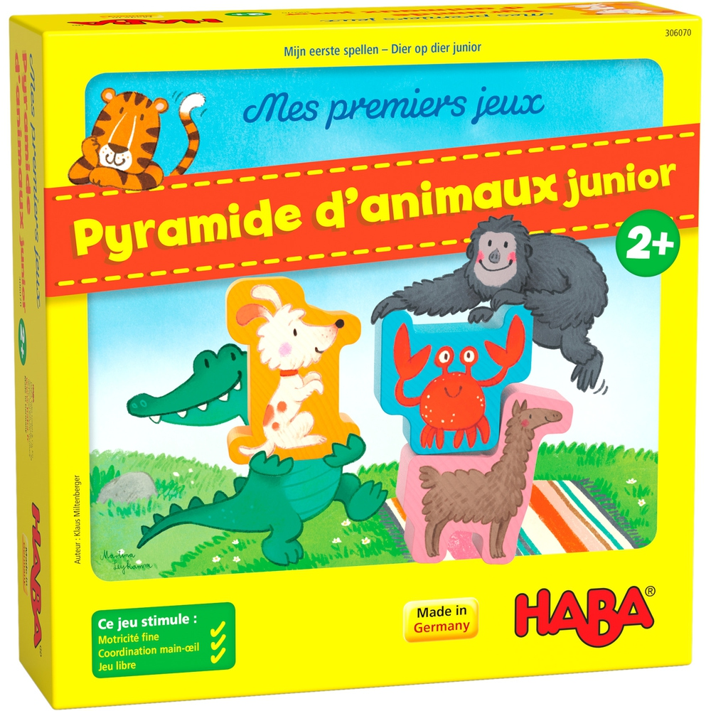 Pyramide d\'Animaux Junior - Mes premiers jeux