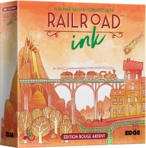 Railroad Ink : Rouge Ardent
