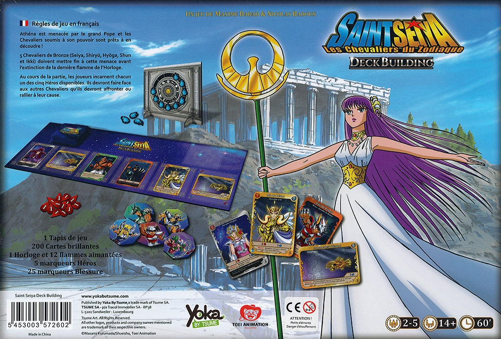 Saint Seiya - Le jeu de Deckbuilding