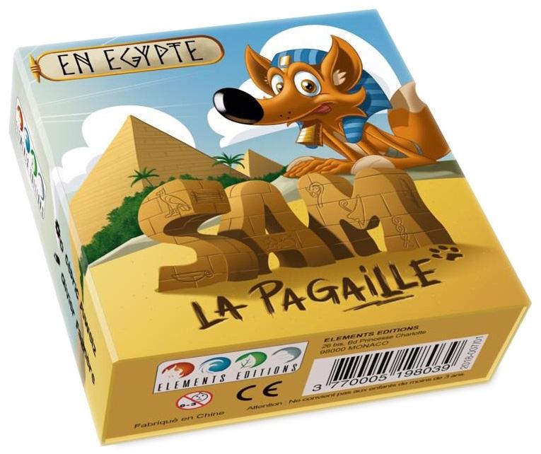 Boite de Sam La Pagaille en Égypte
