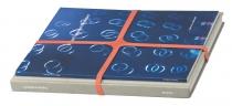 Set de 4 élastiques en croix assortis - 200x25mm