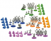 Set de 80 figurines pour Daimyo