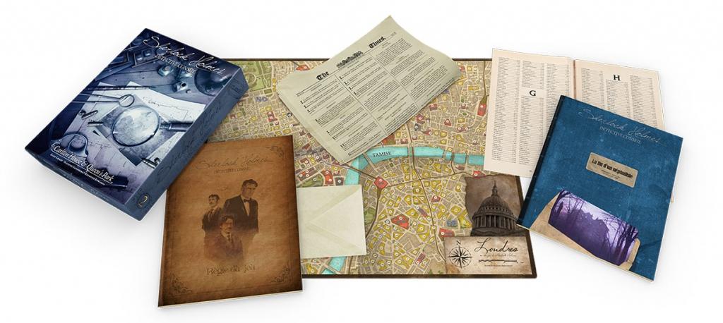 Sherlock Holmes : Carlton House & Queen\'s Park