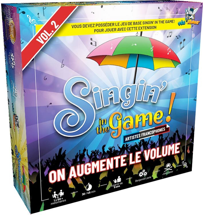 Boite de Singin' in the Game ! Vol. 2 Extension