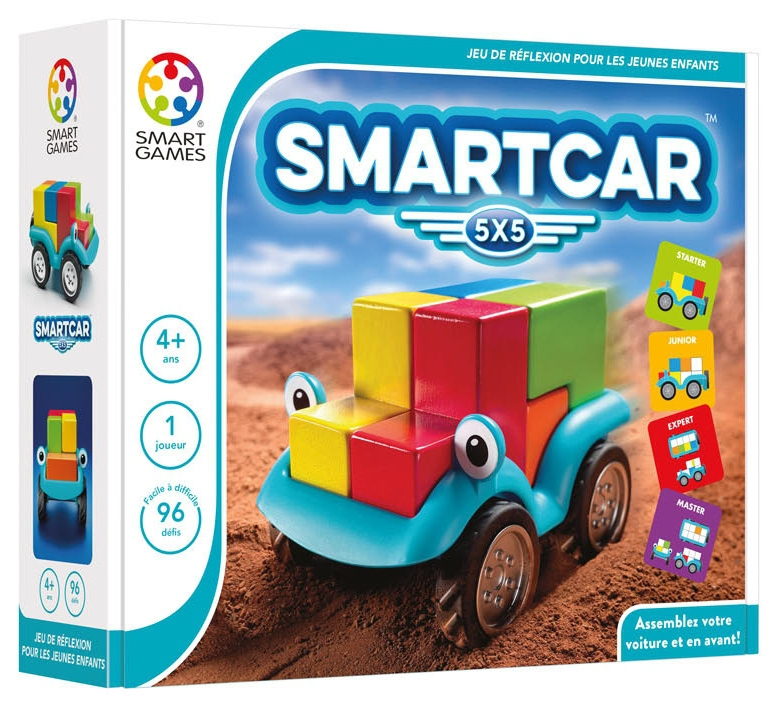 smart car 5x5 jeu de soci t smart games boutique. Black Bedroom Furniture Sets. Home Design Ideas
