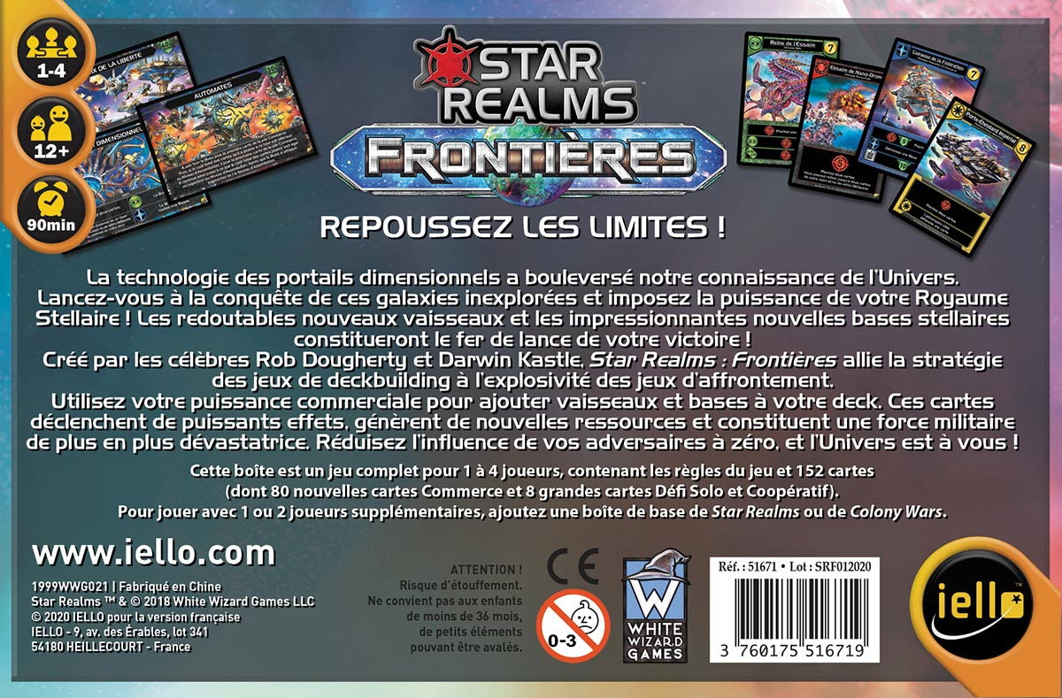 Star Realms - Frontières
