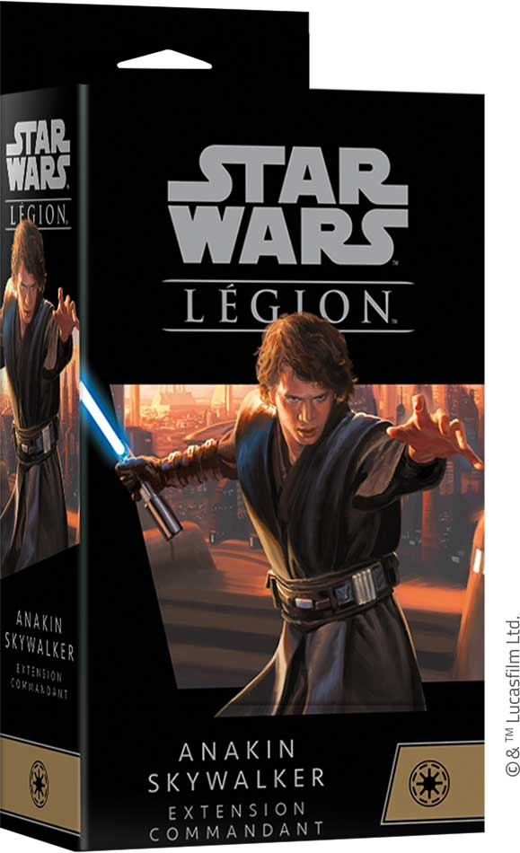 Star Wars Légion : Anakin Skywalker