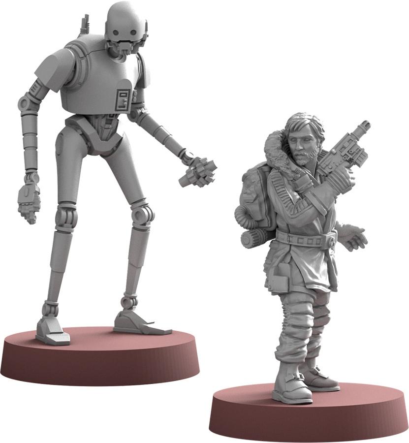 Star Wars Légion : Cassian Andor & K-2SO