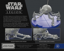 Star Wars Légion : Droïde Araignée Nain DSD1
