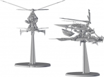 Star Wars Légion : Ornithoptère Raddaugh Gnasp