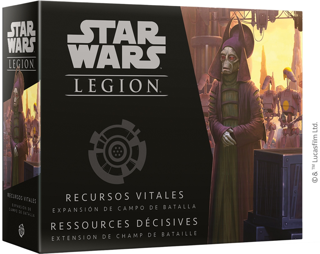 Star Wars Légion : Ressources Décisives