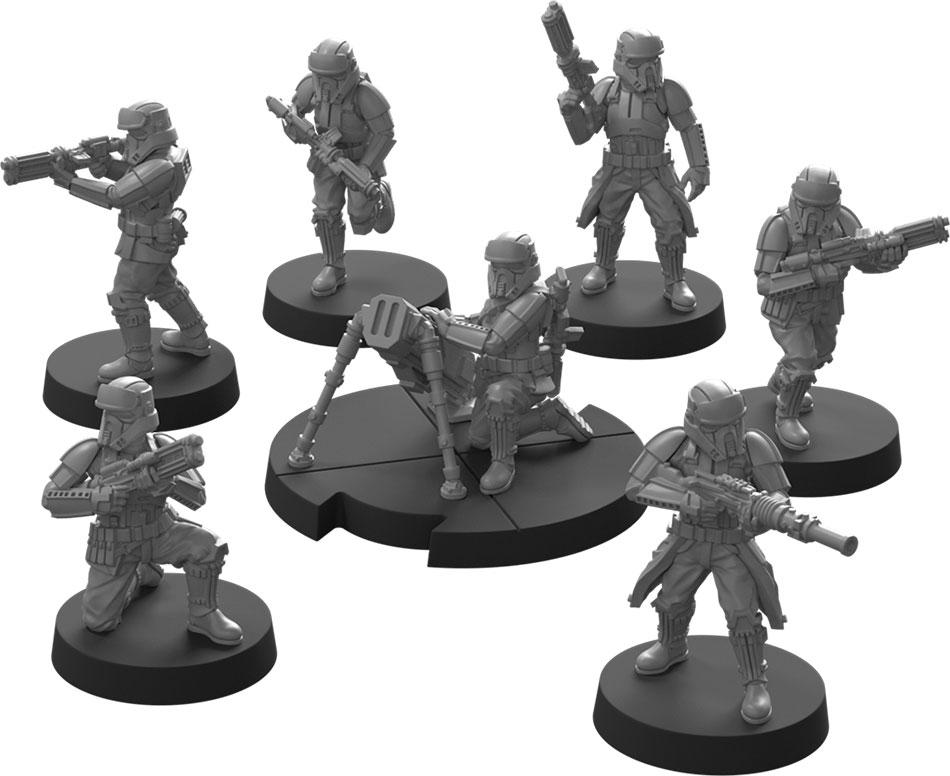 Star Wars Légion : Shoretroopers Impériaux