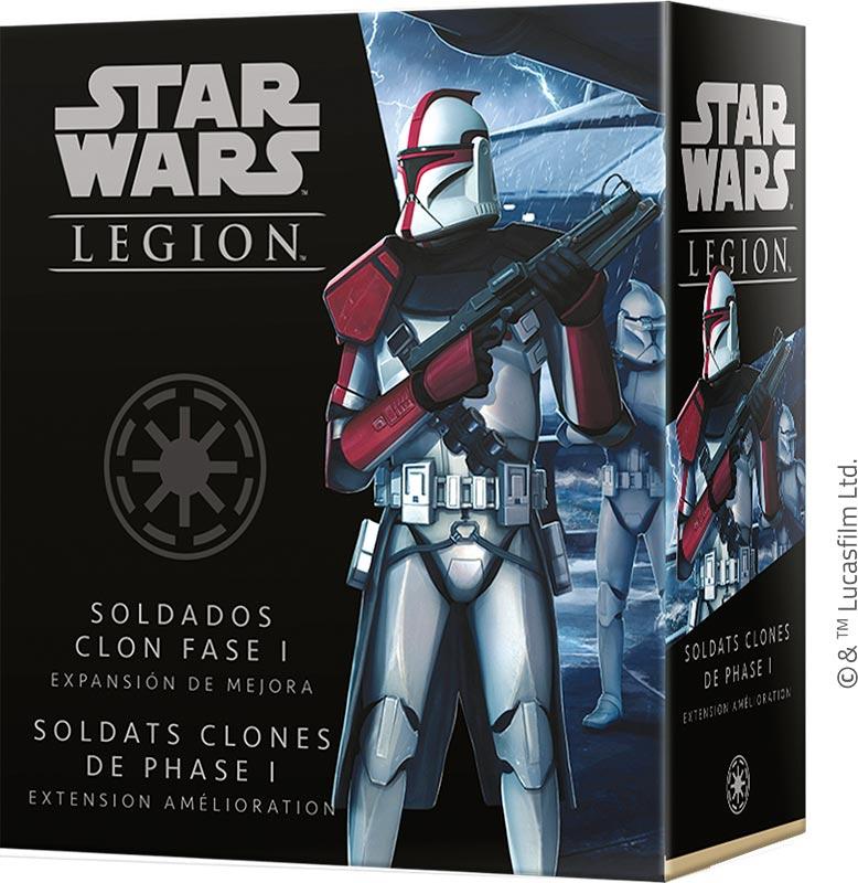 Boite de Star Wars Légion : Soldats Clones de Phase 1 V2