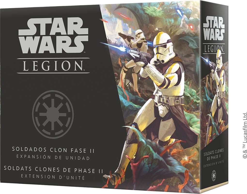 Star Wars Légion : Soldats Clones de Phase 2