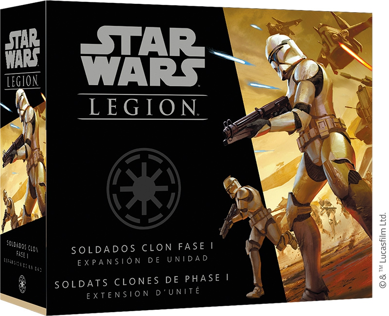 Star Wars Légion : Soldats Clones Phase 1