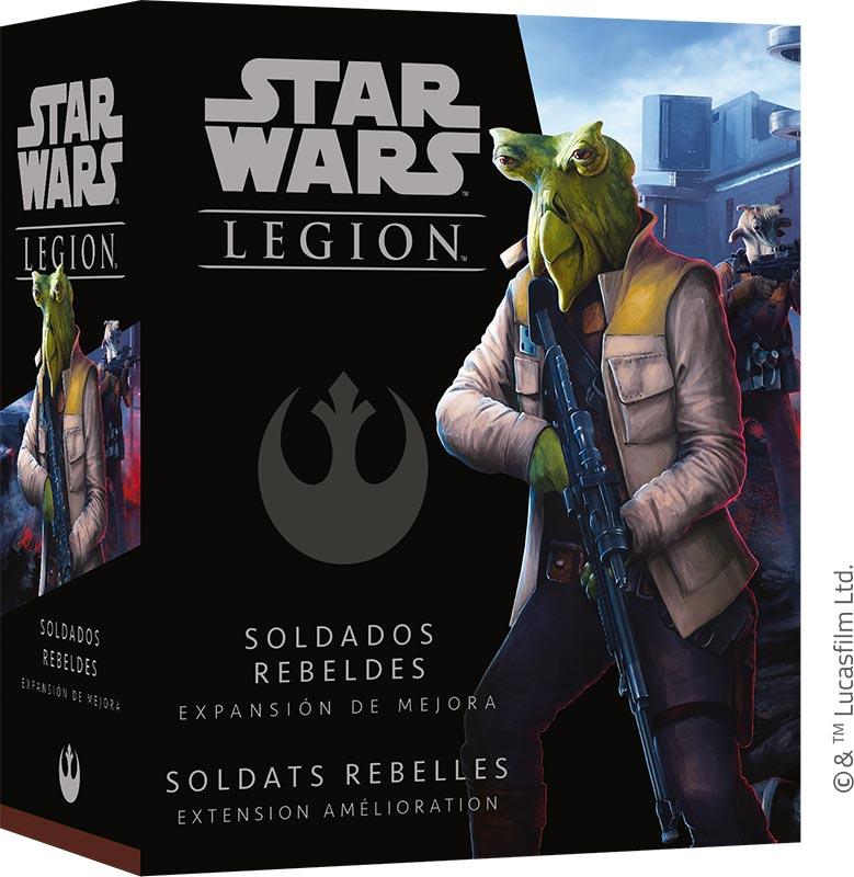 Star Wars Légion : Soldats Rebelles (Amélioration)