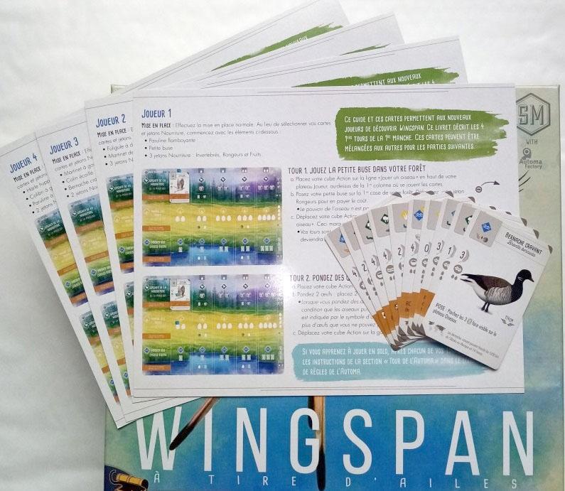 Swift-Start Promo Pack - Wingspan