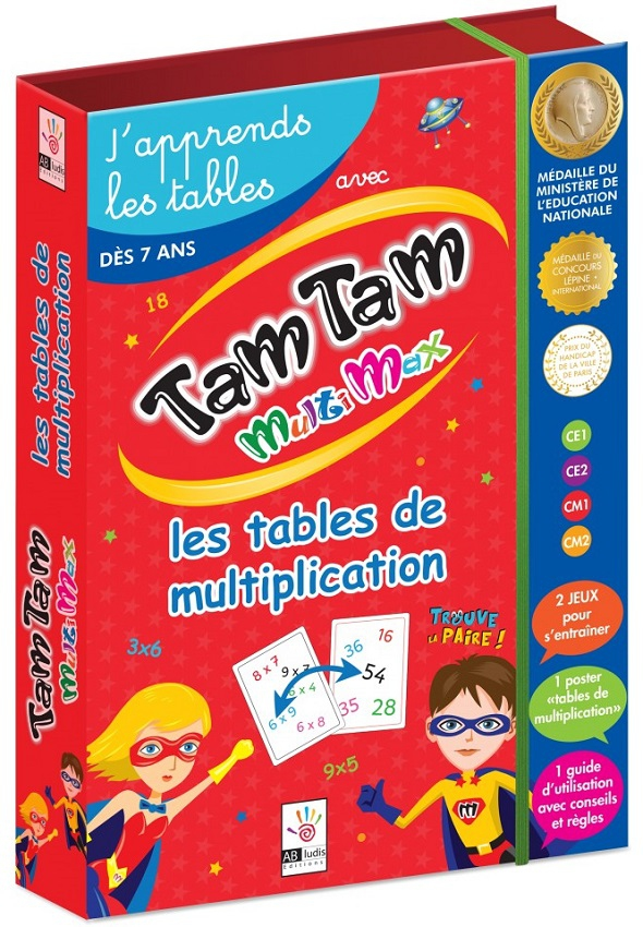 Tam Tam MultiMax : Le Coffret Multiplication