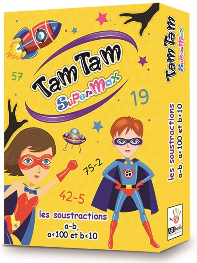 Tam Tam SuperMax - Les Soustractions (a<100-b<10)