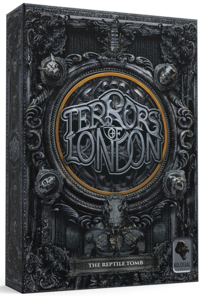 Boite de The Reptile Tomb - Extension Terrors of London