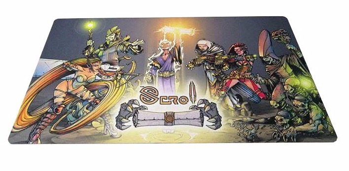 The Scroll : Tapis de Jeu