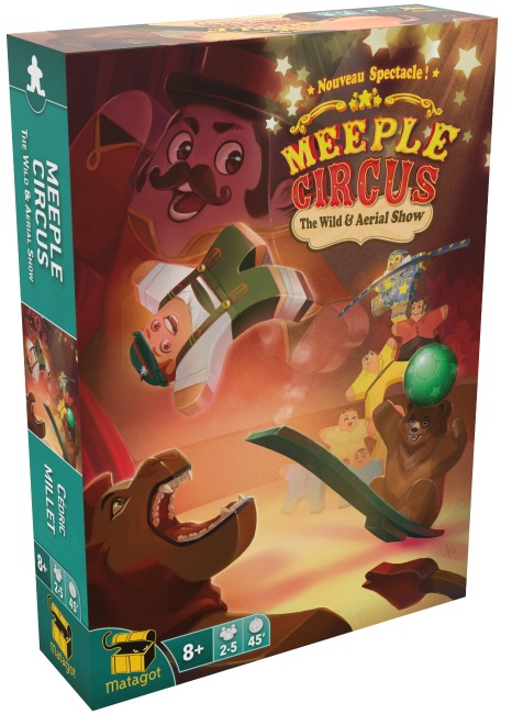 The Wild & Aerial Show - Ext. Meeple Circus