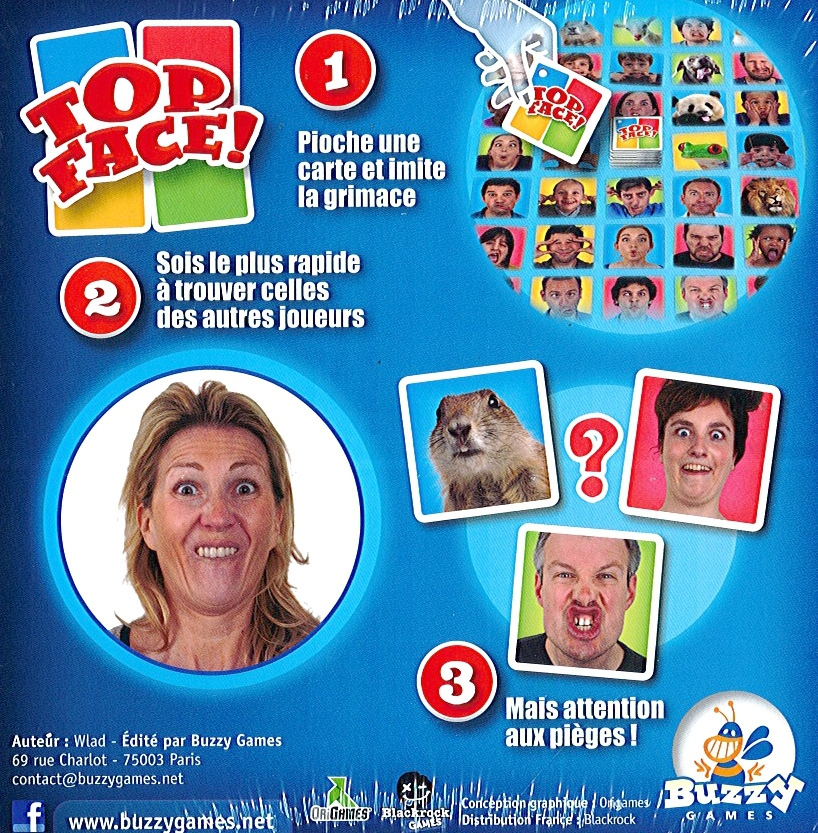 Top Face ! Édition 2016