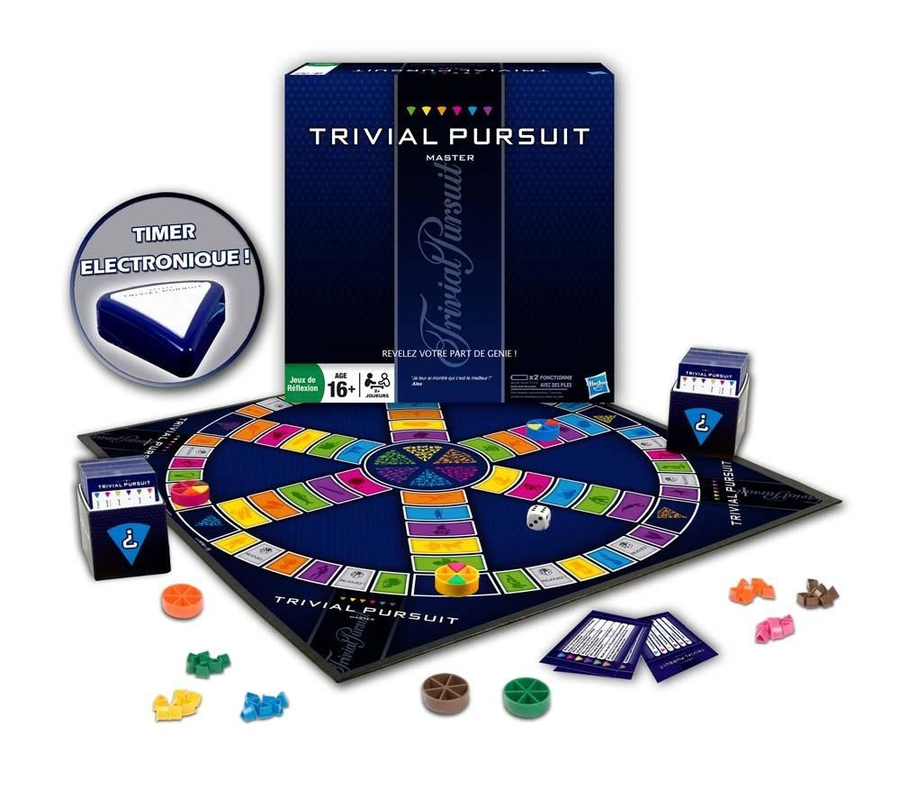 trivial pursuit master jeux de soci t acheter sur. Black Bedroom Furniture Sets. Home Design Ideas