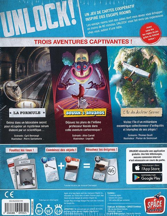 Unlock! 1 : Escape Adventures