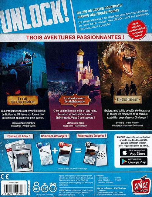Unlock! 4 : Exotic Adventures + Scénario 5è Avenue