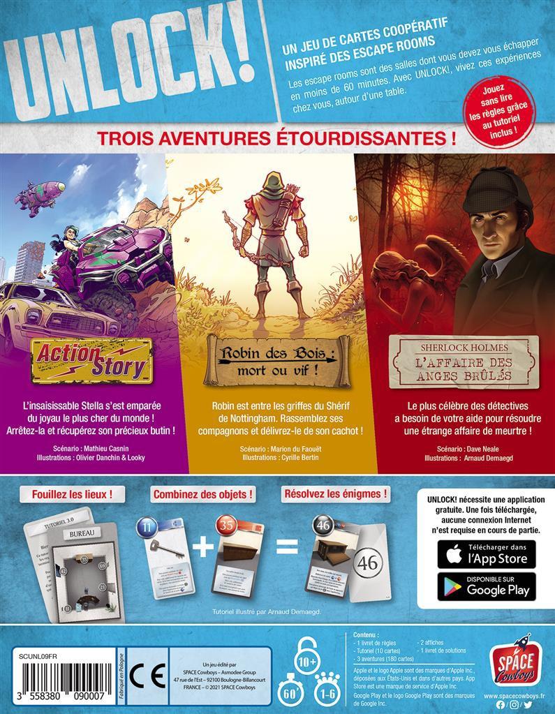 Unlock! 9 : Legendary Adventures