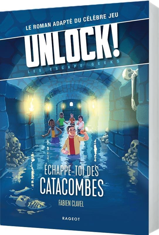 Unlock Escape Geeks : Échappe-toi des Catacombes!