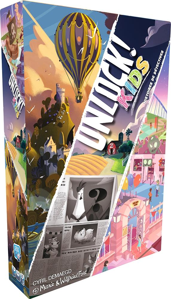 Unlock Kids : Histoires de Détectives