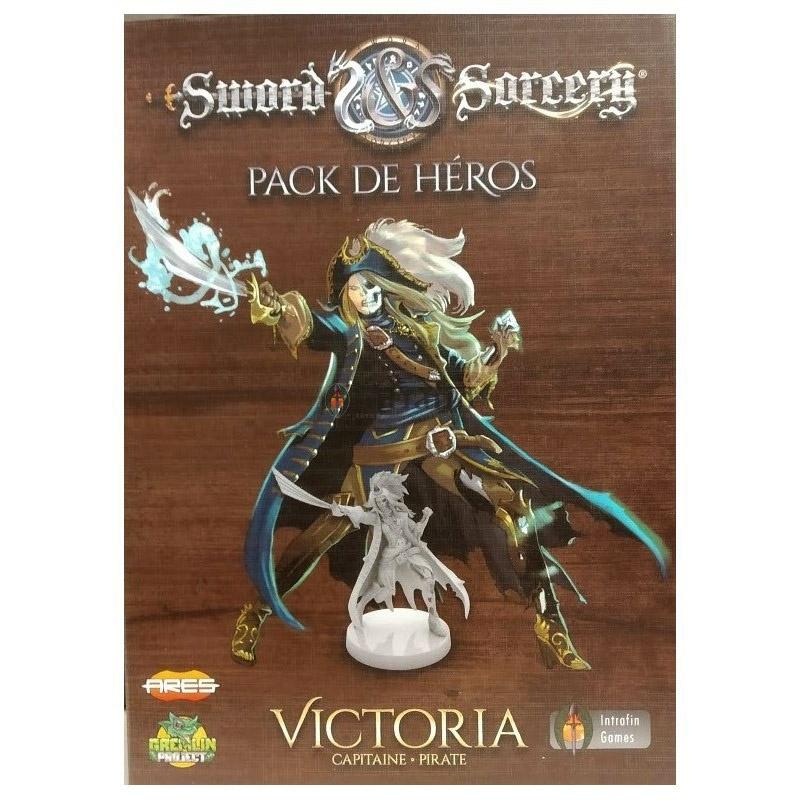Boite de Victoria - Pack Héros - Ext. Sword & Sorcery