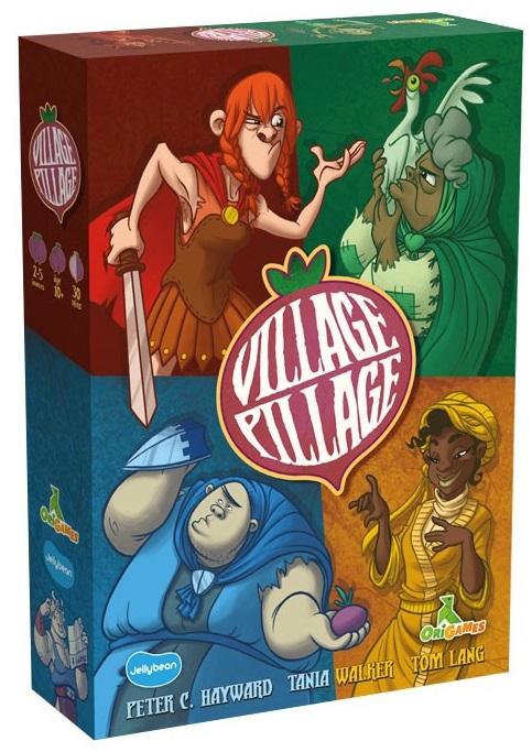 Village Pillage - Jeu de Cartes
