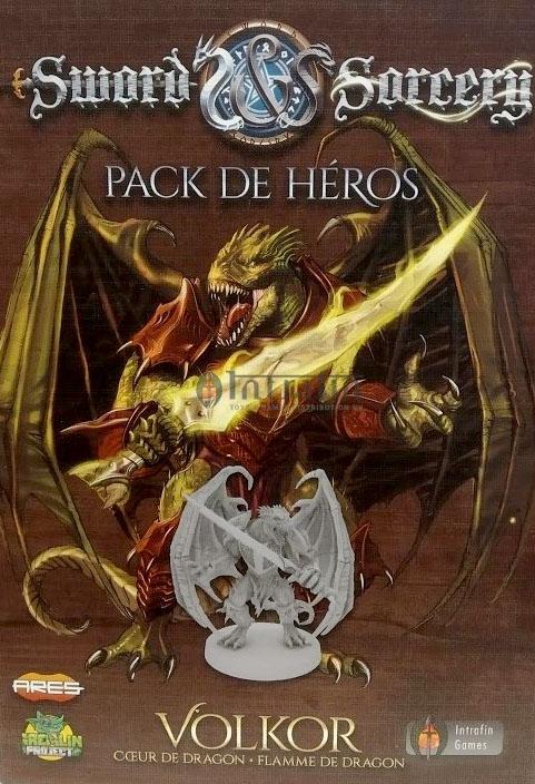 Volkor - Pack Héros - Ext. Sword & Sorcery