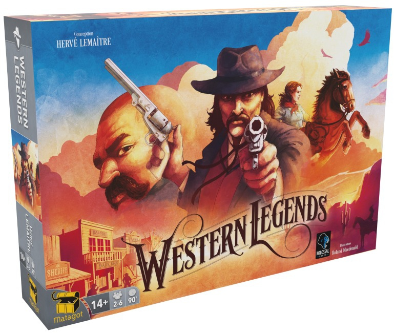 Western Legends pas cher