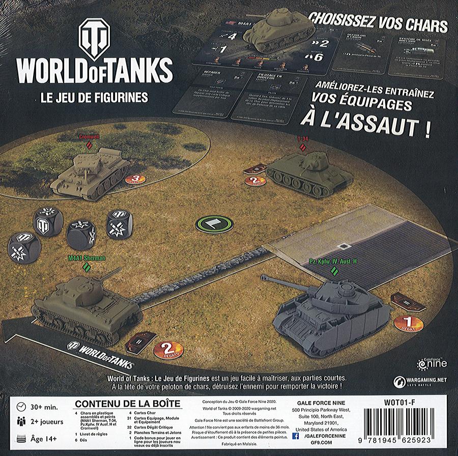 World of Tanks : Le Jeu de Figurines