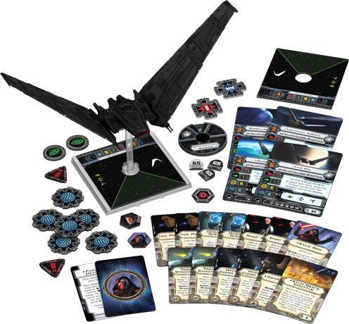 X-Wing : Navette de Commandement Upsilon