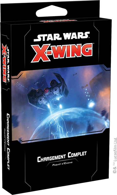 X-Wing 2.0 : Chargement Complet  Paquet d\'Engins